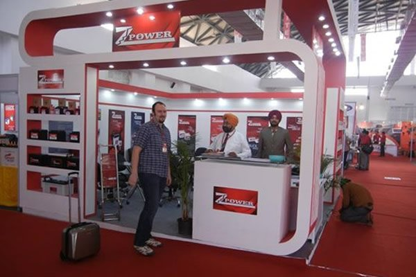 Zpower Batteries Exibition